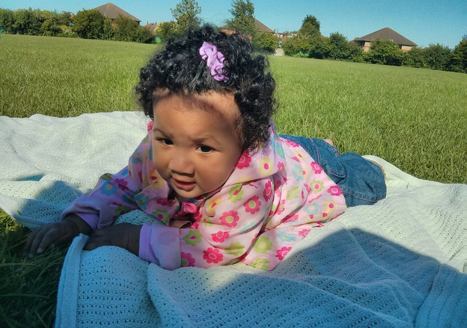 Curls n Bow: caring from mixed texutured baby hair