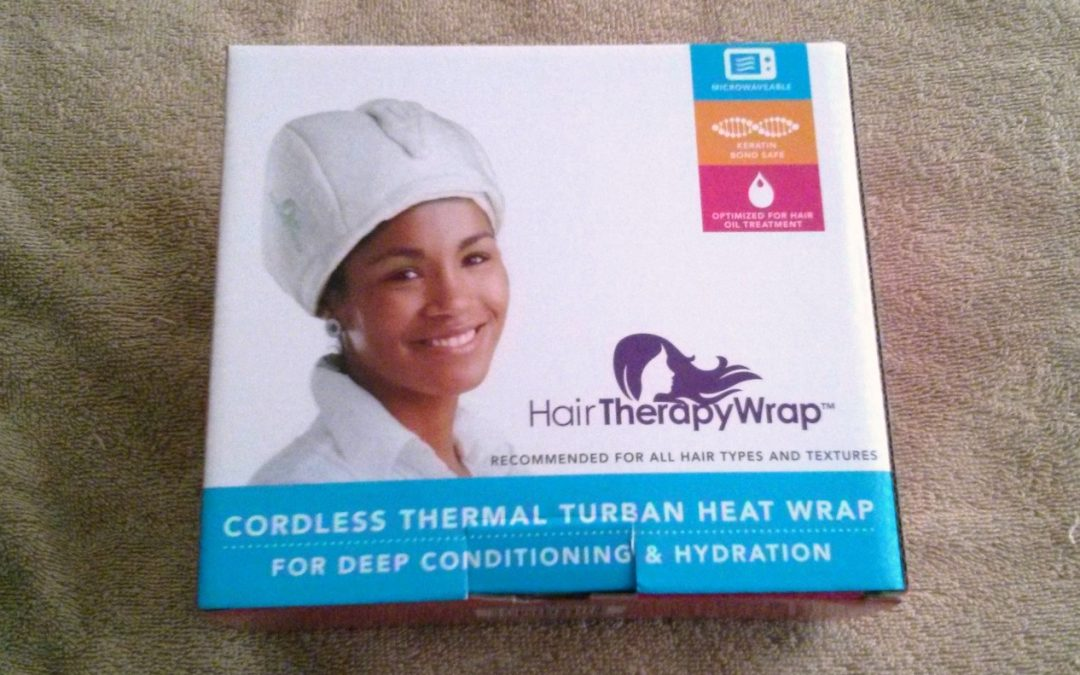 Pre-Shampoo treatment on Natural Hair with HairTherapyWrap