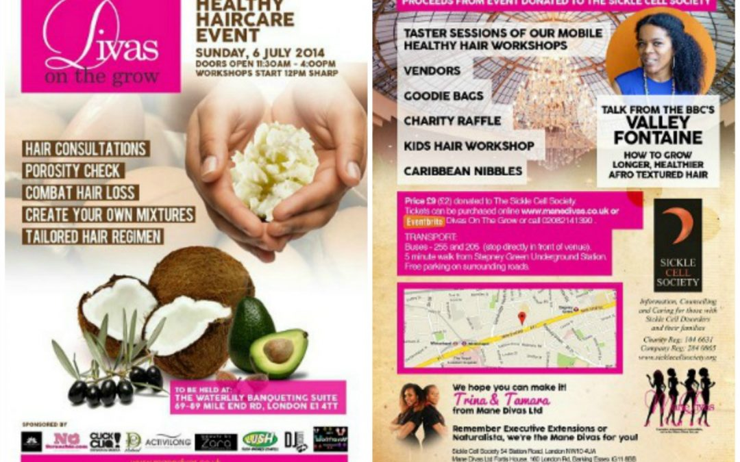 Divas on the grow: healthy haircare event
