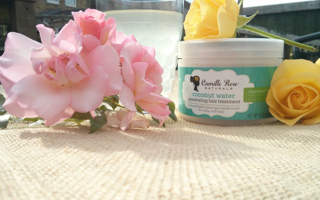 GOING COCO LOCO FOR CAMILLE ROSE NATURALS COCONUT WATER PENETRATING HAIR TREATMENT