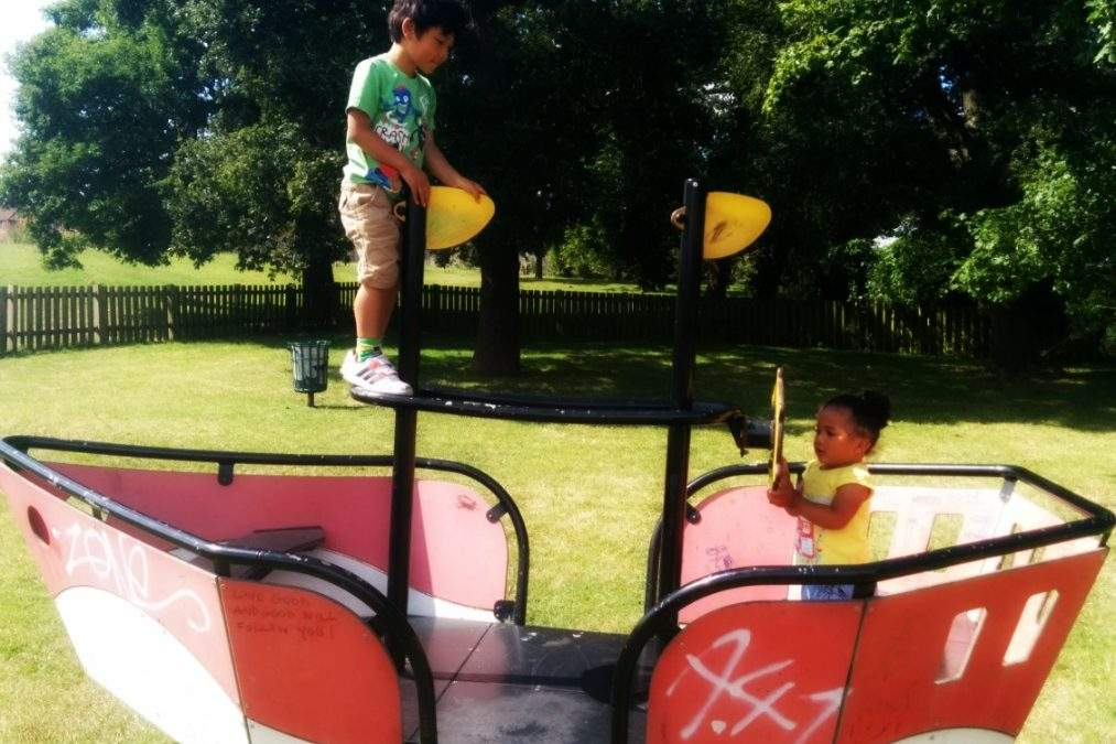 Reasons to be Cheerful: park life