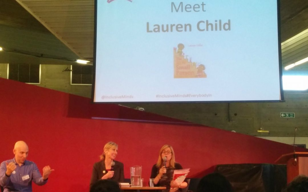 #LaurenChild Q&A: Everybody In Books event at the Imagine Children's Festival