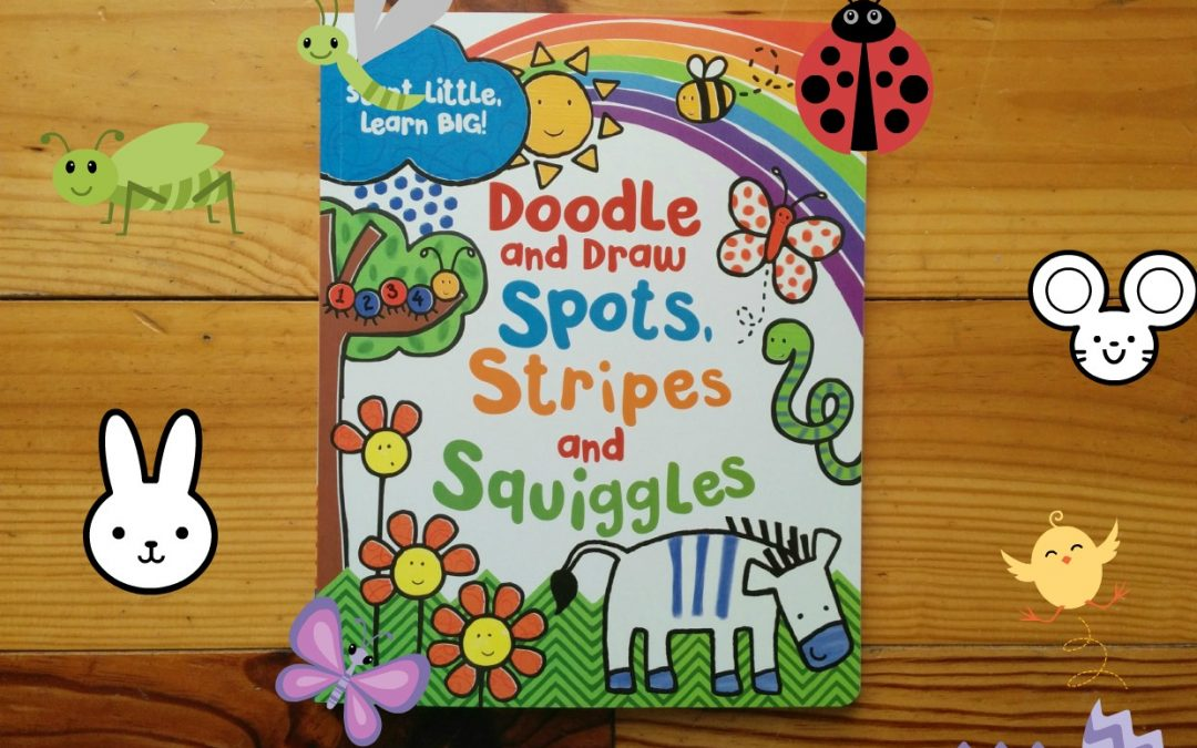 Doodle, Spots, Stripes and Squiggles: activity book for 3+