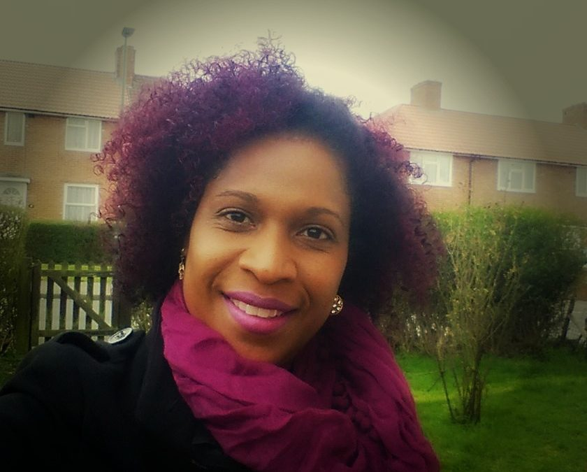 How I coloured my natural curly hair purple