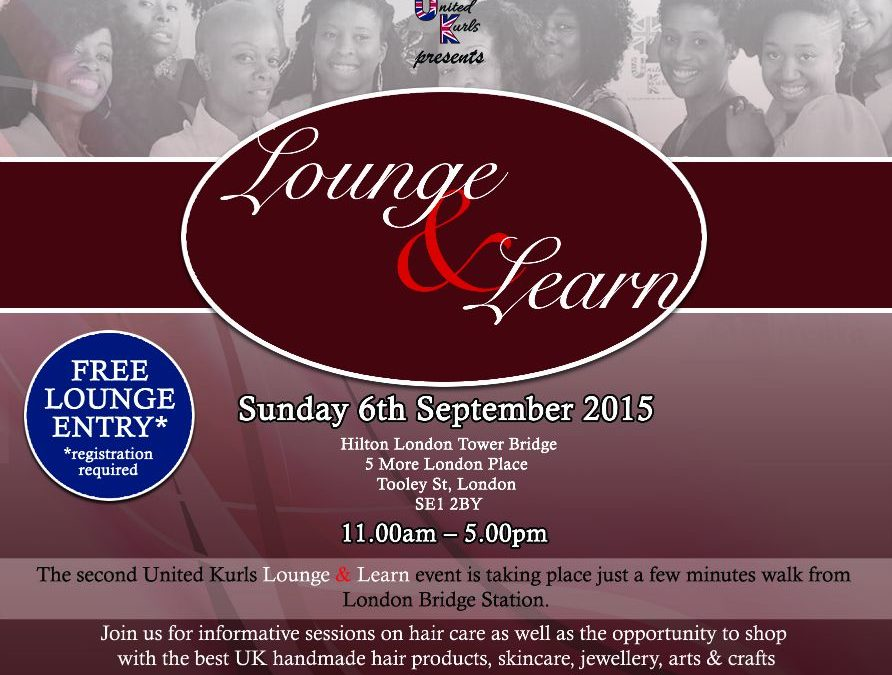 #loungeandlearn with the United Kurls: Press Release