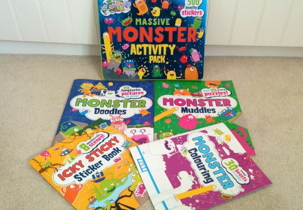 Massive Monster Activity Pack: big fun with Parragon Books