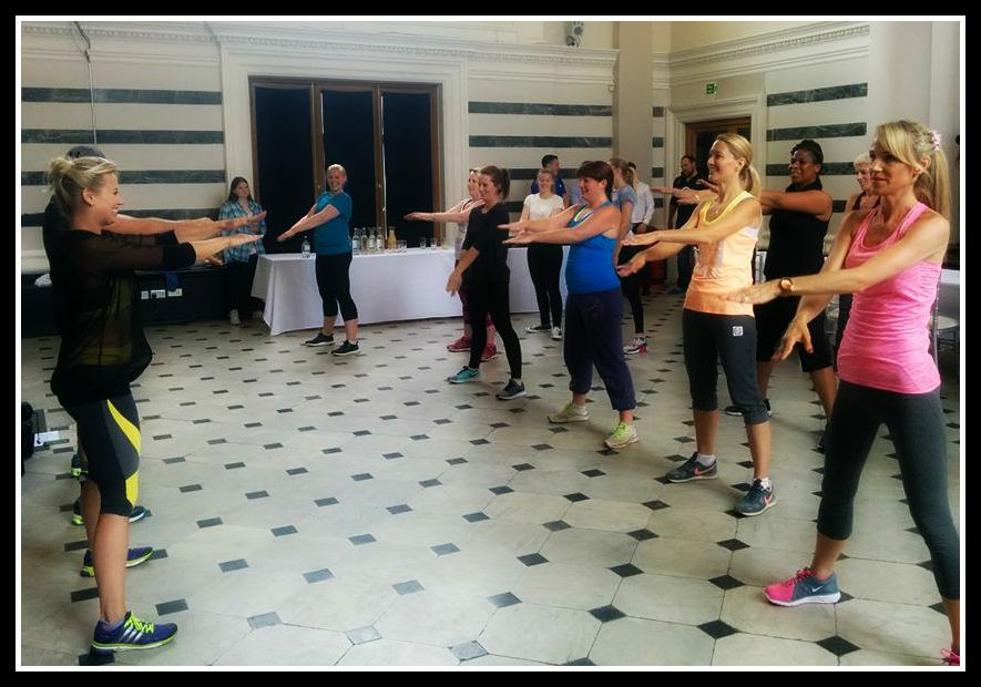 #newmumfitness event with Kimberly Wyatt & Instructor Live: presented by Kiddicare