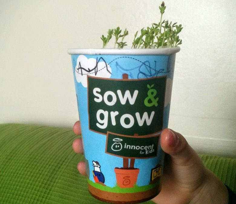#sowandgrow with Innocent