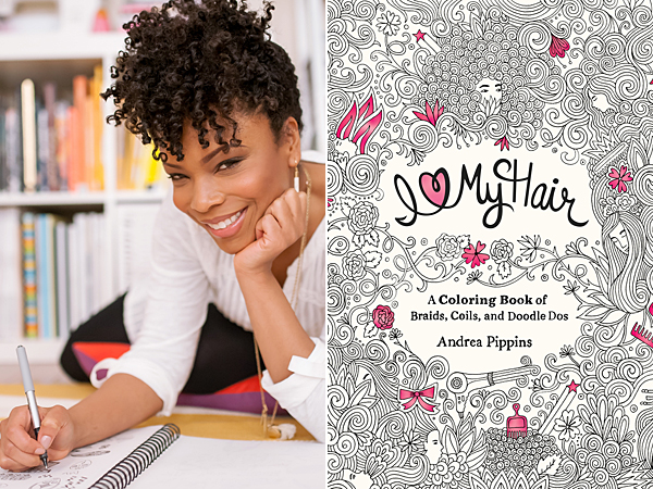The Tiger Tales interviews Andrea Pippins: creator of I Love My Hair adult colouring book