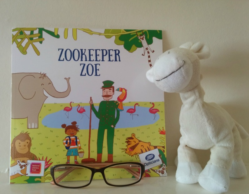 #ZookeeperZoe : Boots Opticians eye check storybook