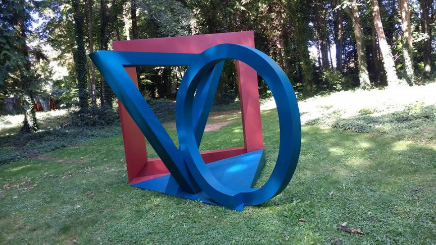 Exploring shapes and form: a family trip to Cass Sculpture Park