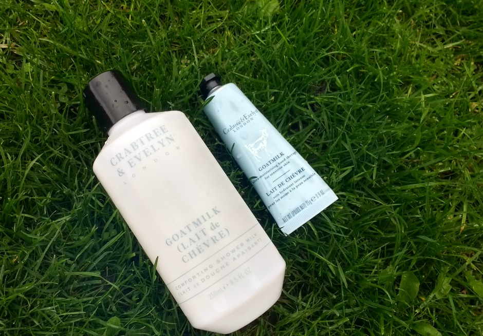 Crabtree & Evelyn's Goatmilk Shower Milk and Hand Therapy review