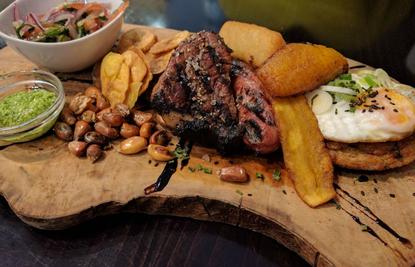 Dining at Tierra Peru