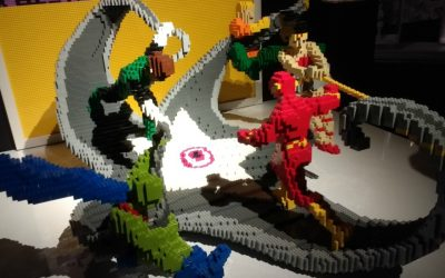 Highlights from THE ART OF THE BRICK: DC SUPER HEROES exhibiton