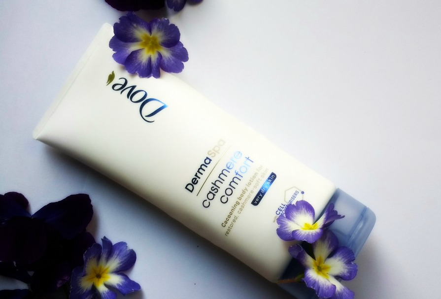 Dove's DermaSpa Cashmere Comfort Cocooning Body Lotion