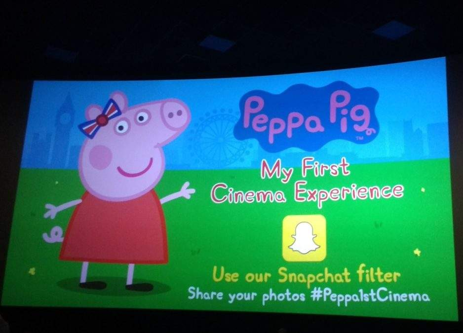 Peppa Pig My First Cinema Experience: a review