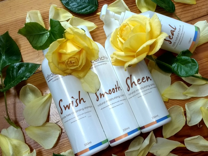 Afrocenchix haircare product review