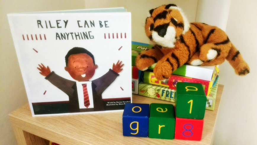 Riley Can Be Anything: book review