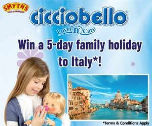 Smyths Toys Cicciobello Competition