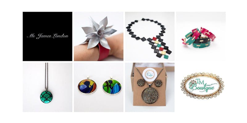SE25 Jewellery Makers Showcase: in aid of the Dominica Hurricane Maria Relief Fund