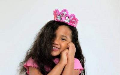 First hair salon experience: Valentina's milestone