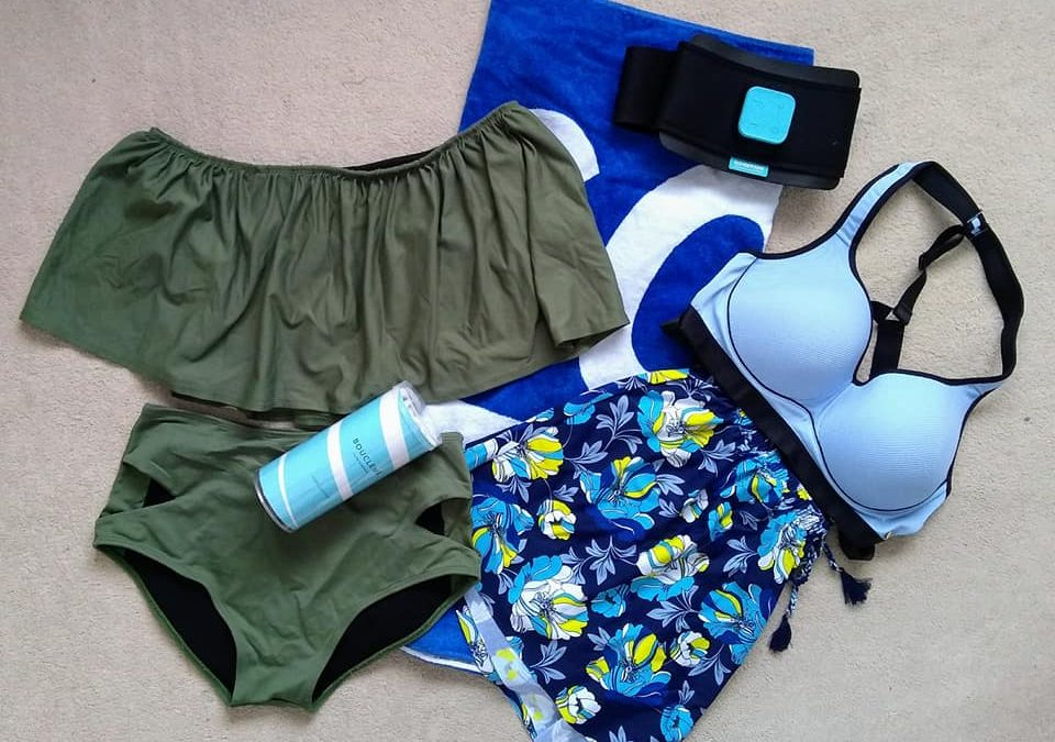 Packing for an active lifestyle staycation