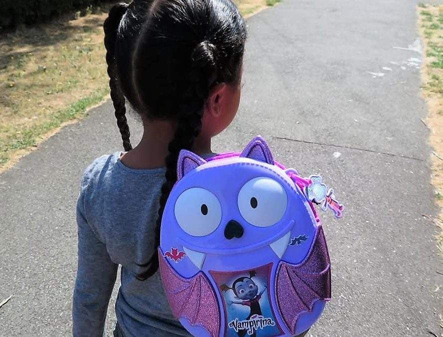 Getting Batty about Back to School with Vampirina's Bootastic Backpack Set