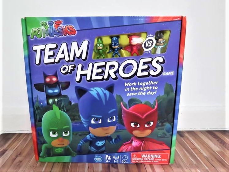 PJ Masks Team of Heroes: review