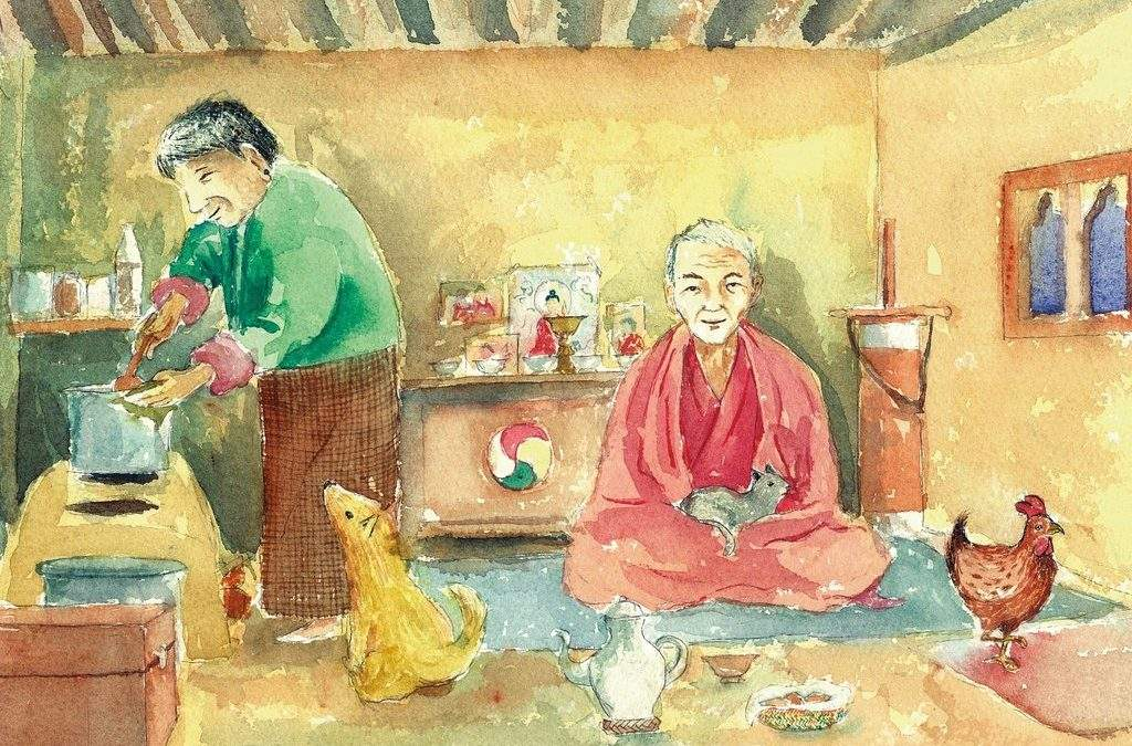 Room in your heart:  A folktale from Bhutan