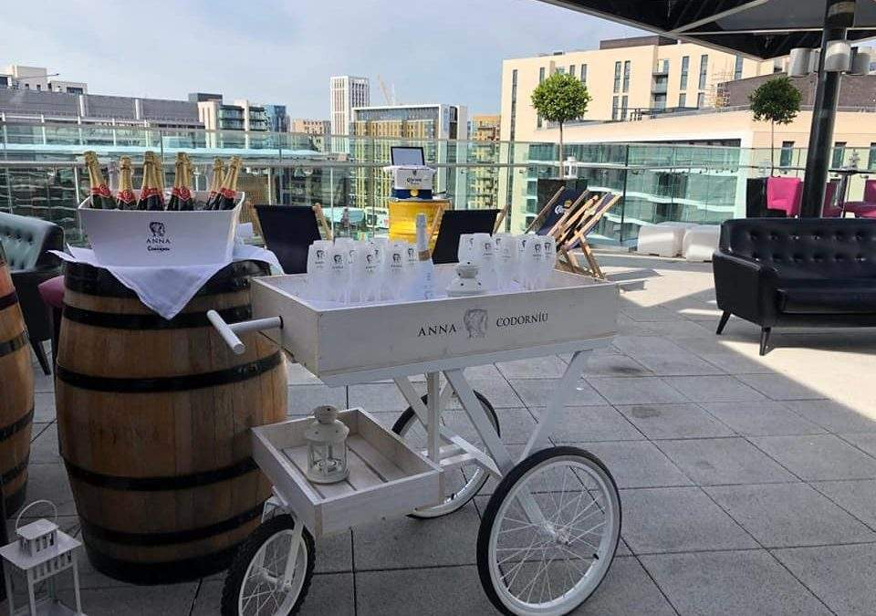 Anna de Codorniu Terrace: the Hilton Wembley hot spot for summer 2019