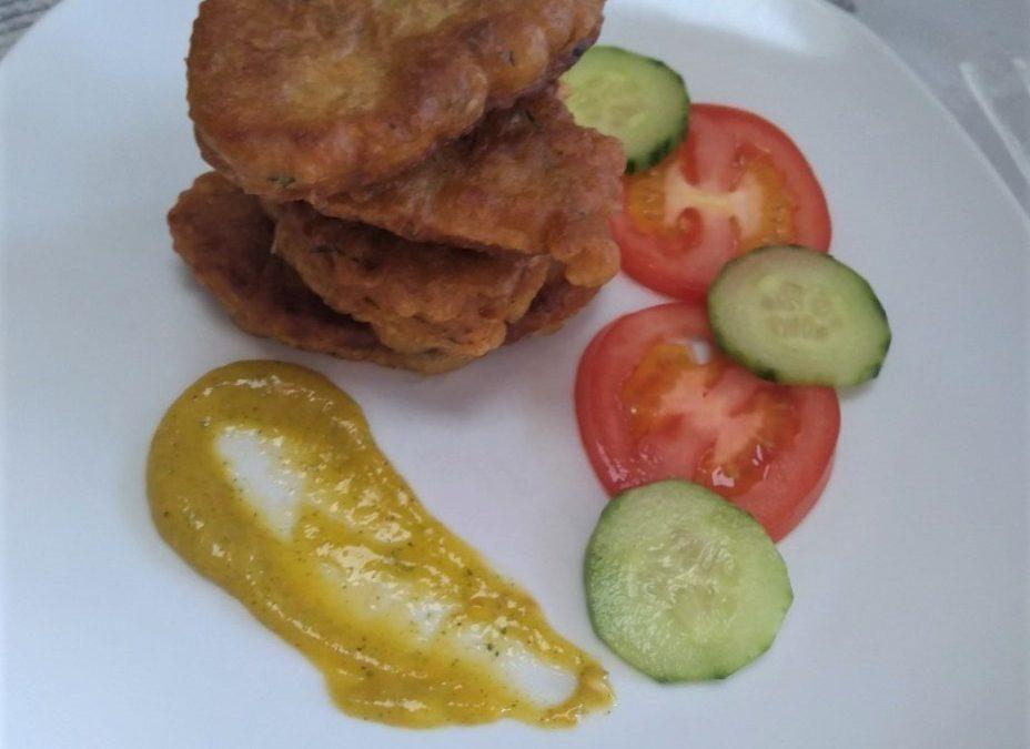 Trini Salt Fish Fritters