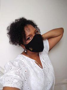 Claudia Pegus Face Mask